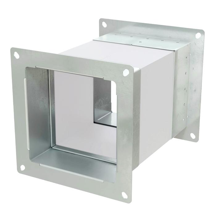 Квадратная гибкая вставка для вентиляторов ВЦ, радиальных